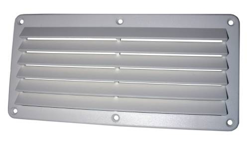 11.28 - Περσίδες 26 cm x 12,7 cm Χρώματος Λευκού - Σετ των 2 τεμαχίων