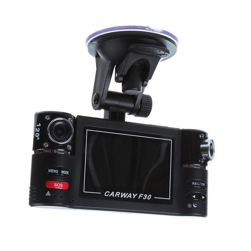 129.9 - Διπλή Κάμερα Αυτοκινήτου με Περιστρεφόμενους Φακούς