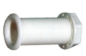 12.8 - Υδρορροές Πλαστικές Σπειρώματος Ø22,67mm - Συσκευασία Των 5 Τεμαχίων