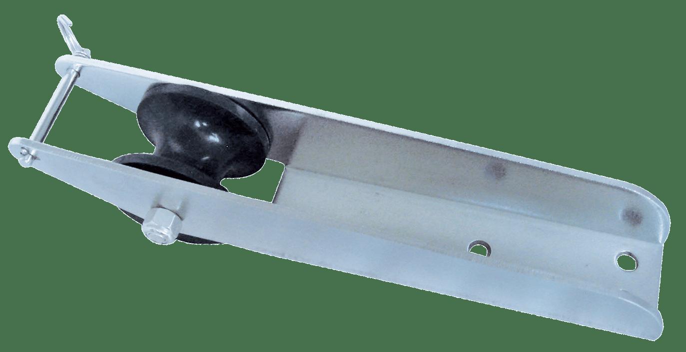 46.59 - Ράουλο Inox Με Πίρο Ασφαλείας L280 x W50mm