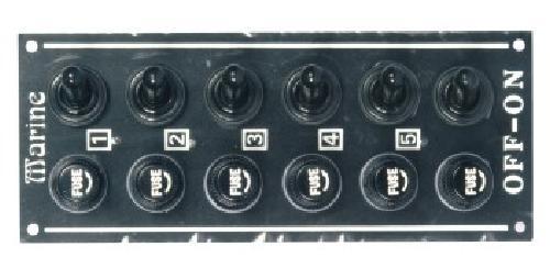 35.51 - Πίνακας Αδιάβροχος Με 4 Διακόπτες L120xW70mm