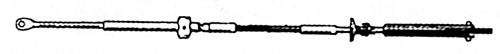 38.34 - Ντίζα Χειριστηρίου C14 20ft