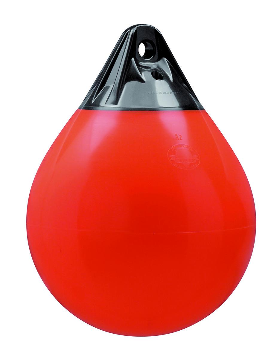 246.86 - Μπαλόνι Στρογγυλό Βαρέως Τύπου POLYFORM 85x112cm Πορτοκαλί