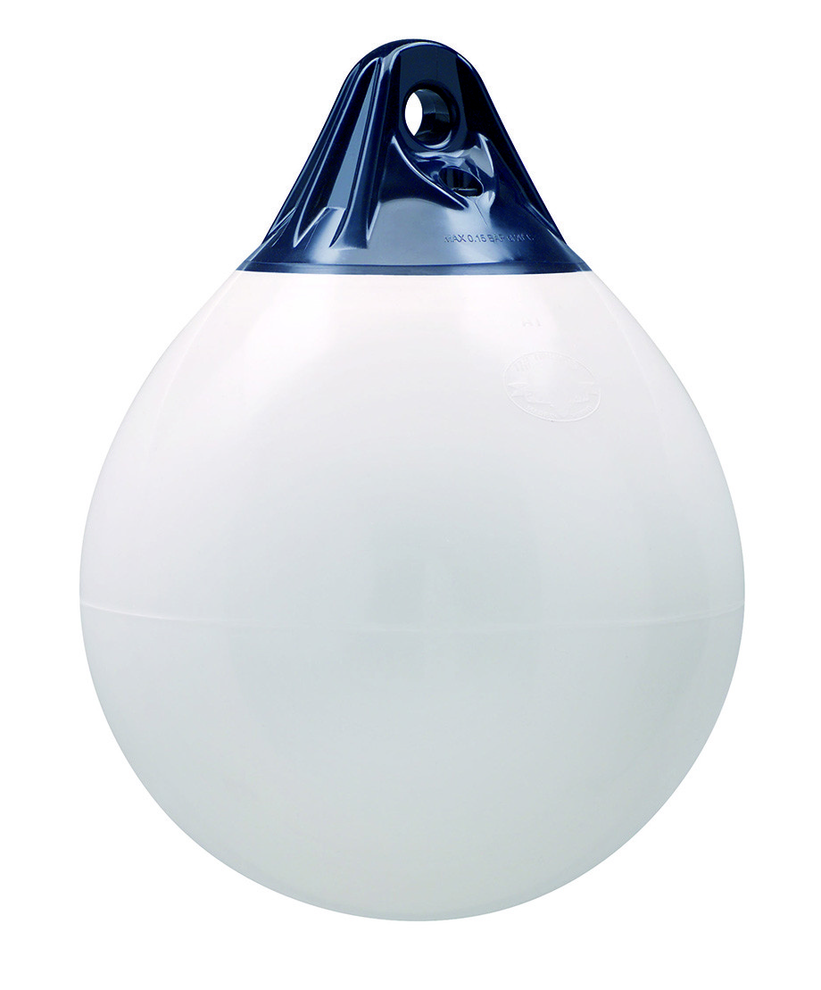 27.34 - Μπαλόνι Στρογγυλό Βαρέως Τύπου POLYFORM 29,5x38cm Λευκό