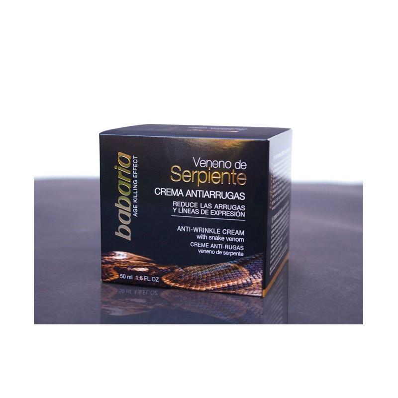 27.9 - Αντιρυτιδική Κρέμα Προσώπου με Δηλητήριο Φιδιού Babaria 50 ml