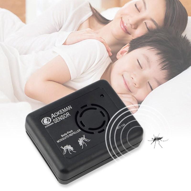 13.9 - Φορητή Απωθητική Συσκευή Υπερήχων για Κουνούπια και Σκνίπες