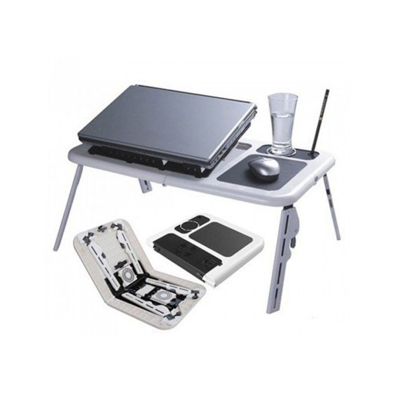 19.9 - Αναδιπλούμενο Τραπεζάκι για Laptop με Βάση Ψύξης