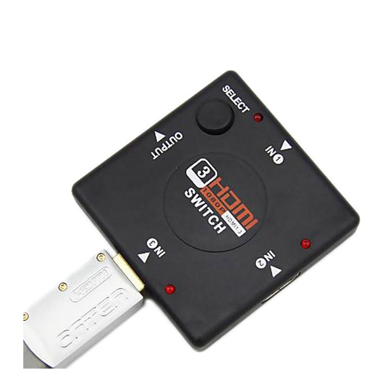 4.9 - Αντάπτορας HDMI με 3 Θύρες