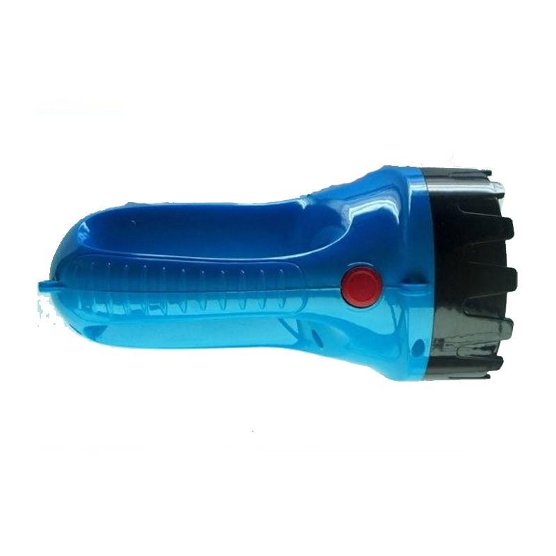 14.9 - Επαναφορτιζόμενος Φακός 2 σε 1 Χρώματος Γαλάζιο