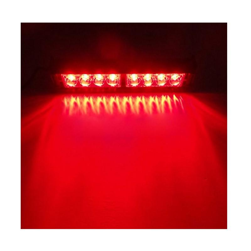 14.9 - Φώτα Ασφαλείας με 8 Led για Παρμπρίζ