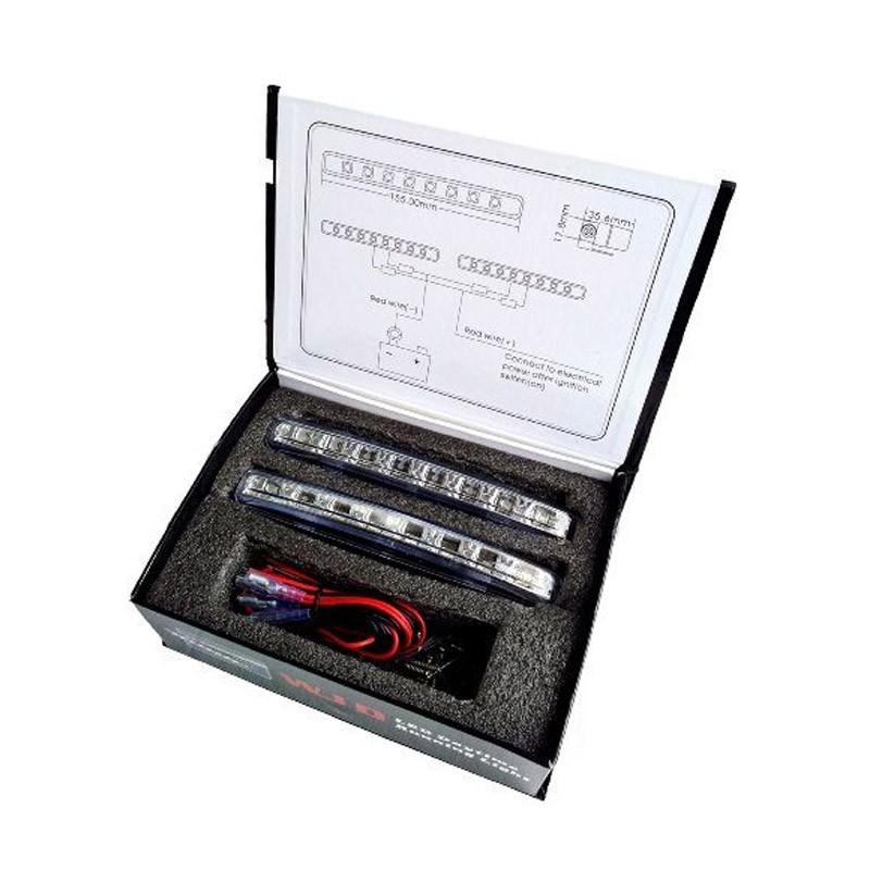 11.9 - Προβολάκια - Φώτα Ημέρας Αυτοκινήτου WJD LED - 240