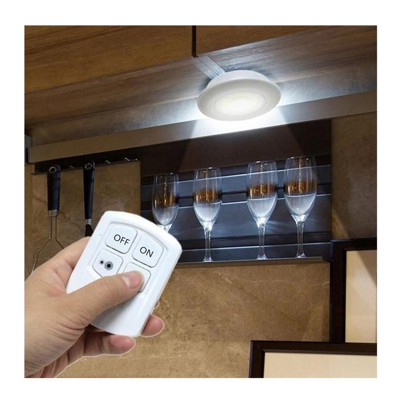 11.9 - Σετ Τηλεχειριζόμενα Φωτάκια LED Νυκτός - Τεμάχια 3