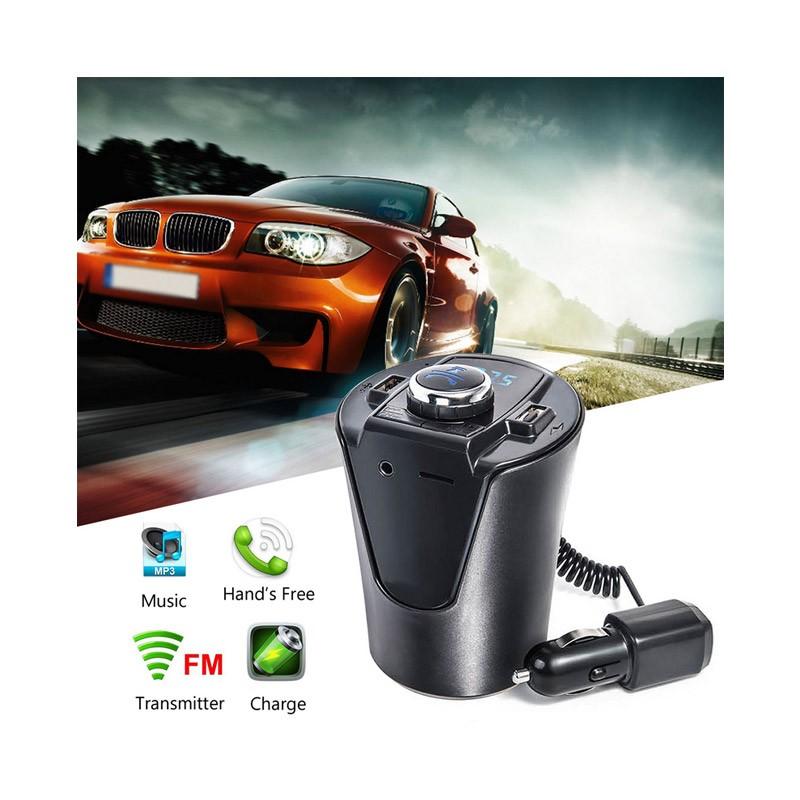19.9 - Bluetooth / USB / MP3 FM Transmitter με Φορτιστή USB
