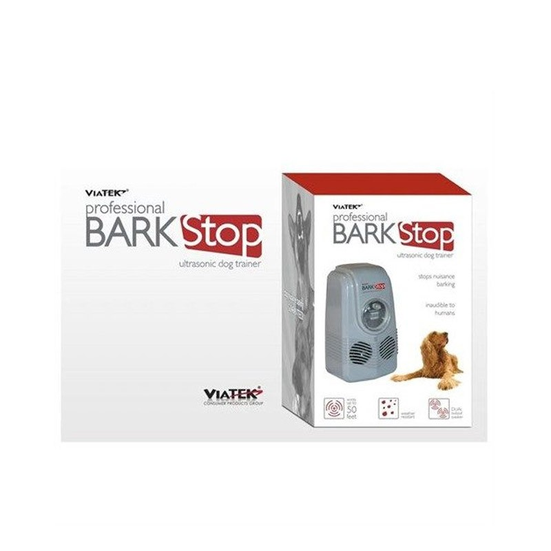19.9 - Ηλεκτρονική Συσκευή Εκπαίδευσης Σκύλων & Αποτροπής Γαβγίσματος Viatek Bark Stop
