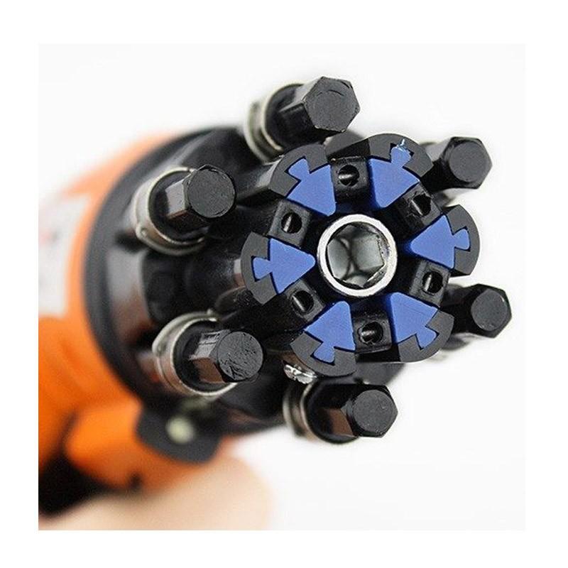 23.9 - Ισχυρό Επαναφορτιζόμενο Κατσαβίδι με LED Φακό