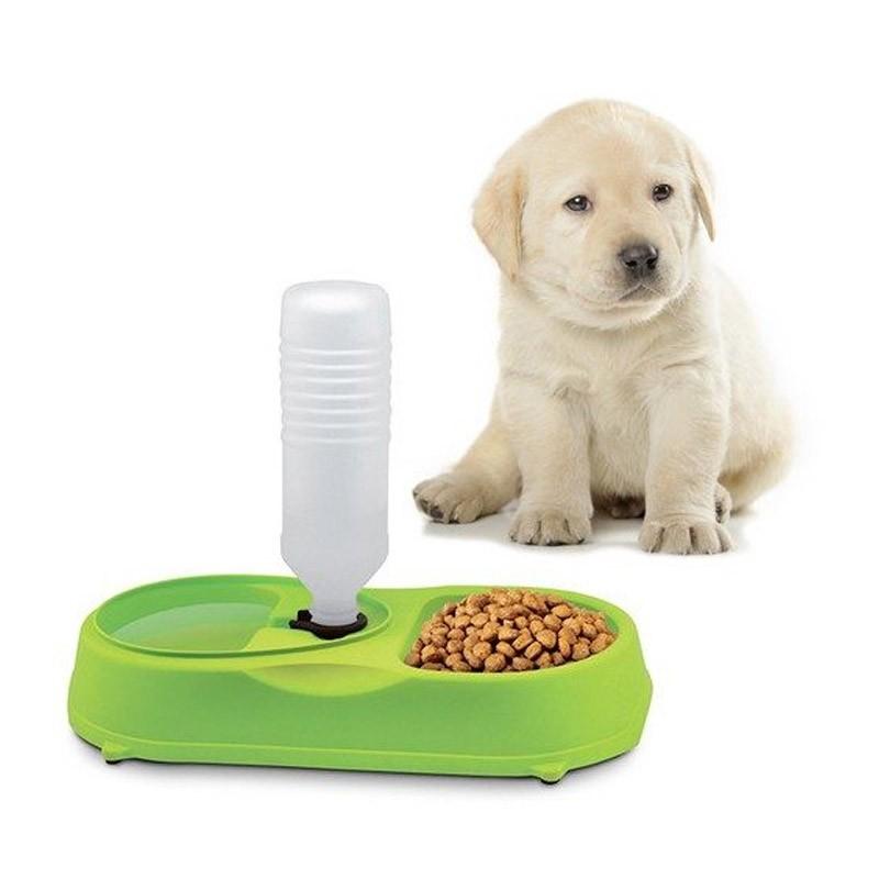 10.9 - Ταΐστρα Φαγητού και Νερού για Κατοικίδια Pet Feeder