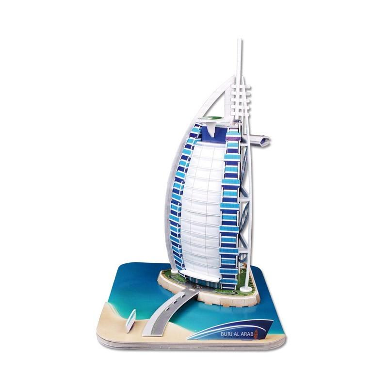 7.9 - Τρισδιάστατο Παζλ Ξενοδοχείο Burj Al Arab - 37 Κομμάτια