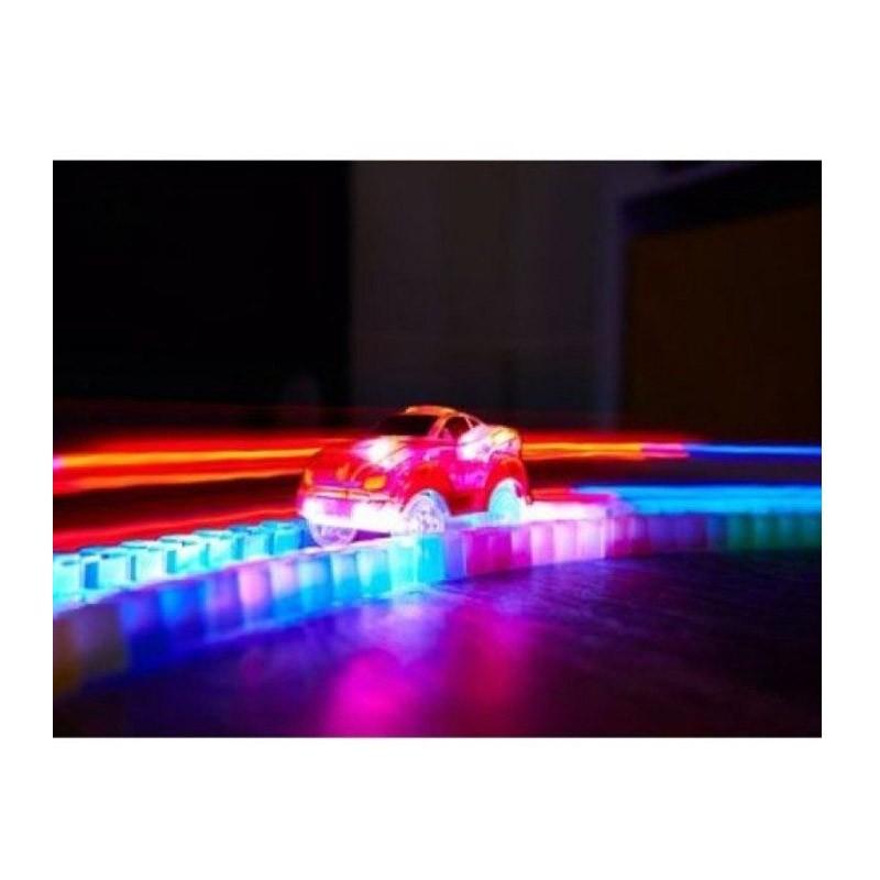 19.9 - Αυτοκινητόδρομος και Αυτοκινητάκι με Φωτισμό LED - 220 Τεμάχια