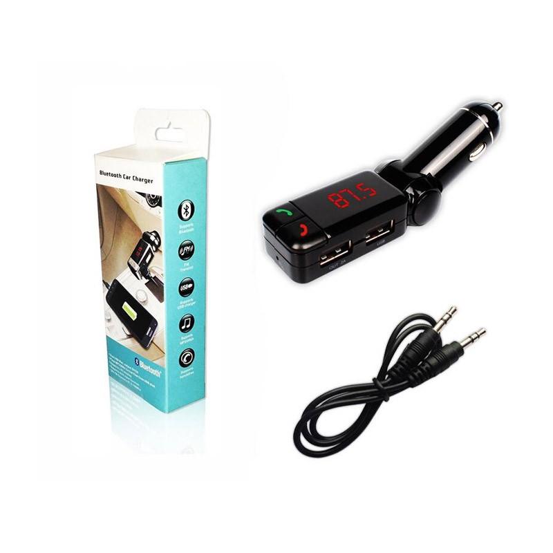 Bluetooth USB/SD MP3 Player, FM Transmitter και Φορτιστής Αυτοκινήτου