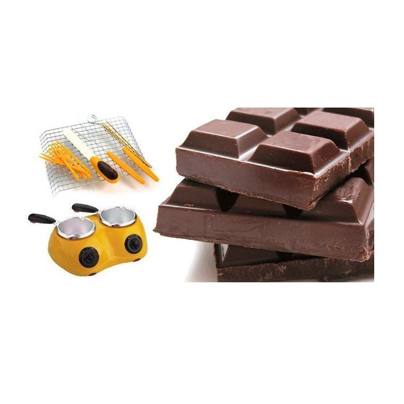 37.9 - Διπλή Συσκευή για Σοκολάτα ή Φοντί-Chocolatiere