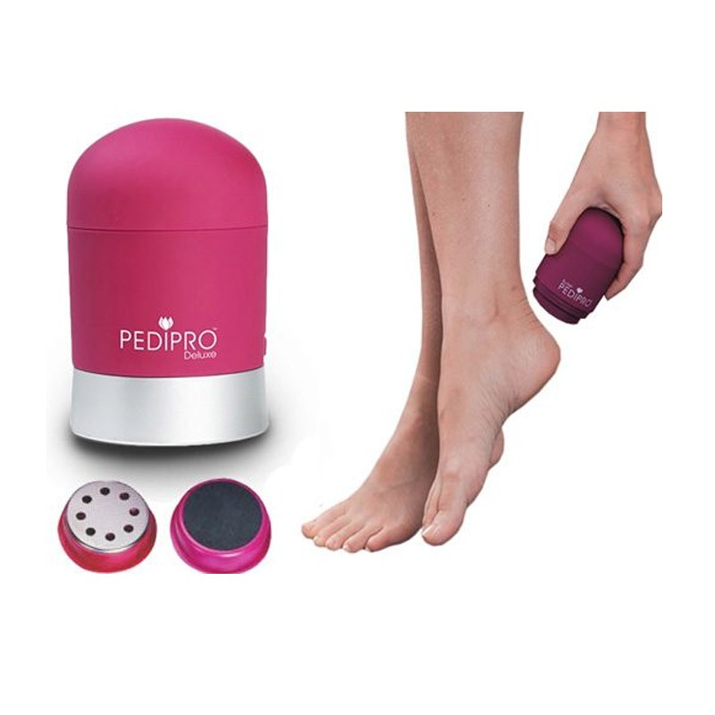 9.8 - Συσκευή Περιποίησης Ποδιών και Αφαίρεσης Κάλων Pedi Pro Deluxe