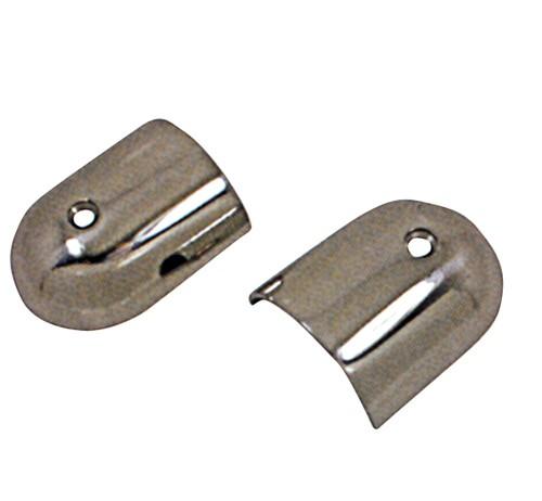 17.58 - Τελείωμα Inox Περιμετρικού Ελαστικού Για Προφίλ 50mm