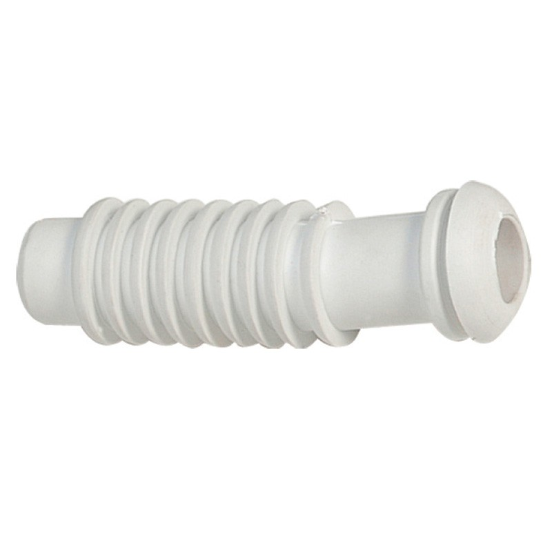 5.88 - Υδρορροή Ελαστική Εύκαμπτη Χρώμα Λευκό 120mm