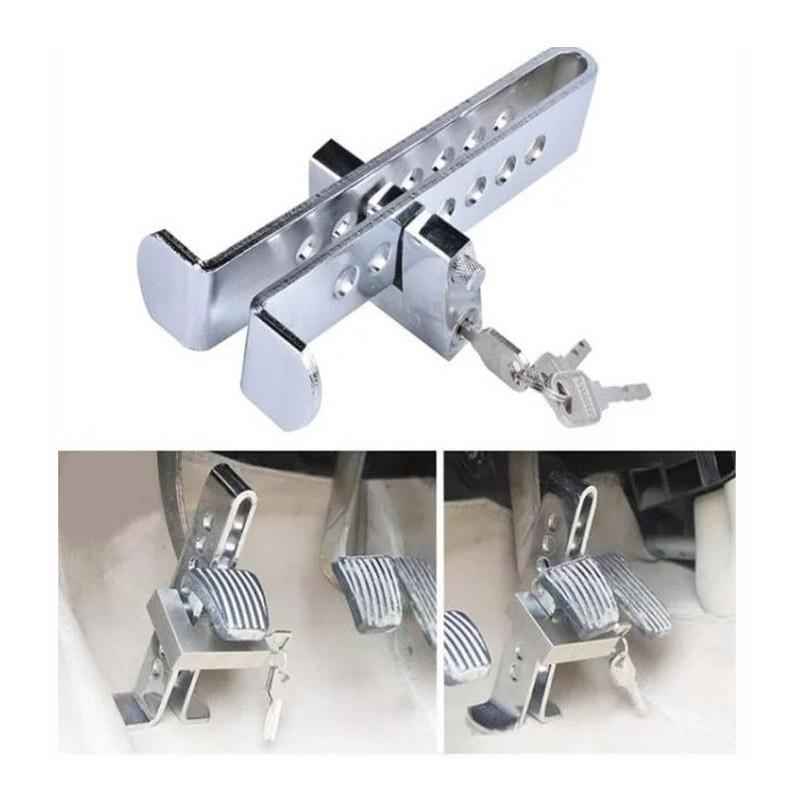 19.9 - Αντικλεπτική Κλειδαριά για Πεντάλ Αυτοκινήτου με 3 Κλειδιά