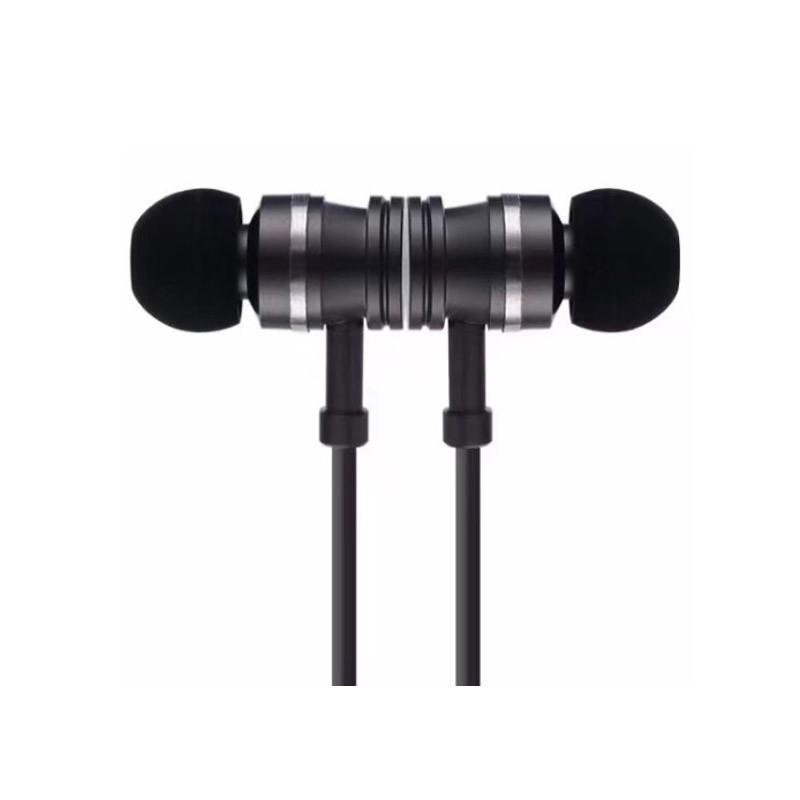 19.9 - Ασύρματα Μαγνητικά Ακουστικά με Bluetooth Χρώματος Μαύρο