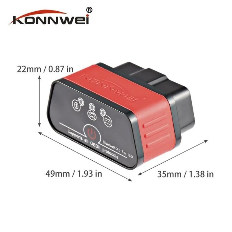 29.9 - Διαγνωστικό Βλαβών Αυτοκινήτου Konnwei KW903