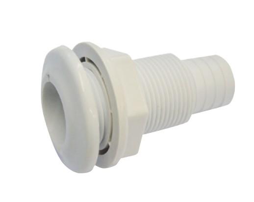 9.13 - Υδρορροή Ανεπίστροφη Για Σωλήνα 33mm Χρώμα Λευκό