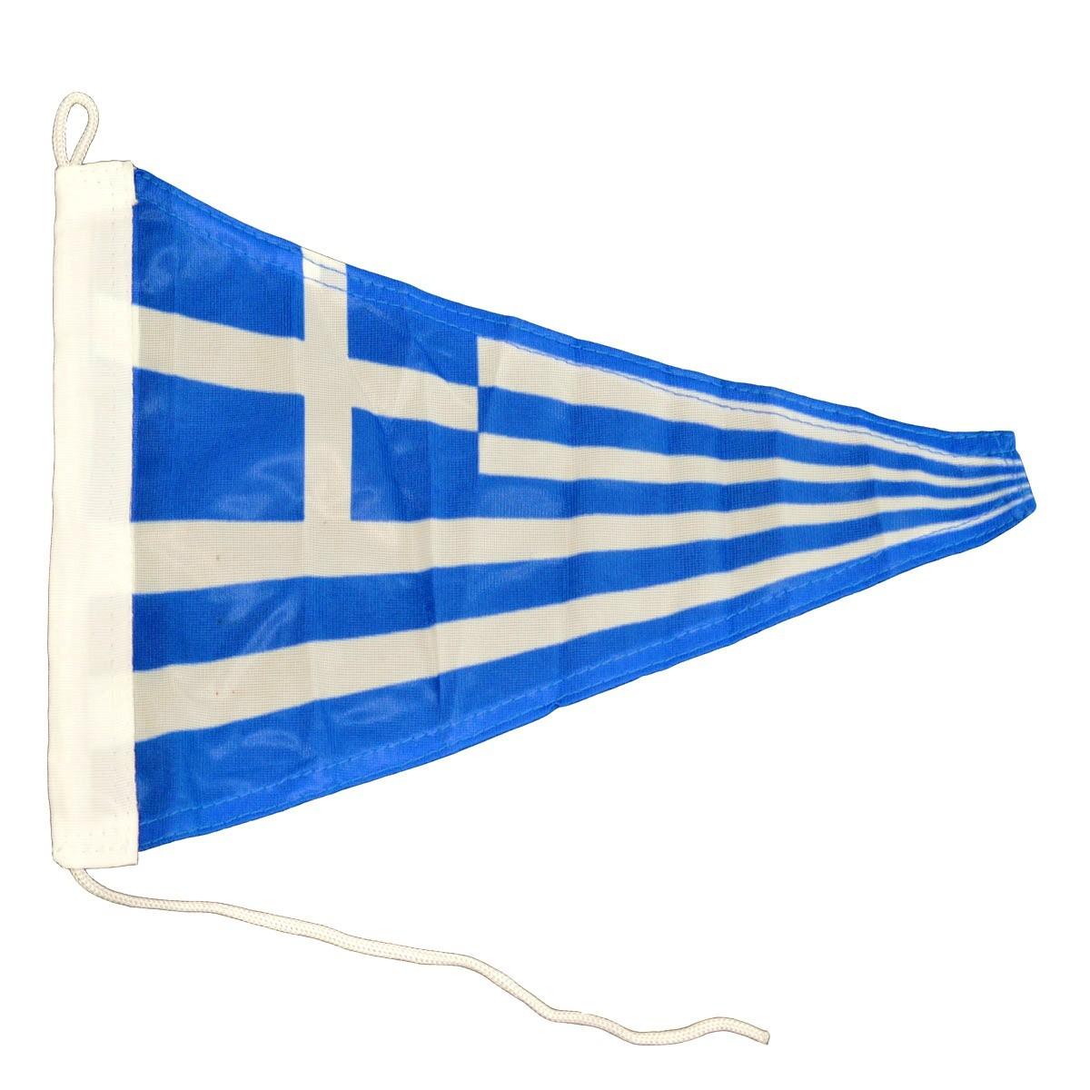 5.97 - Σημαία Ελληνική Τρίγωνη Μήκους 35cm