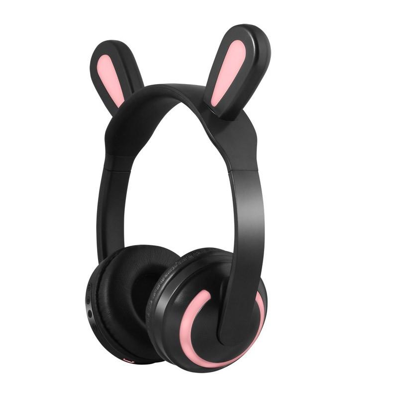 29.9 - Ασύρματα Ακουστικά με Bluetooth & Φωτισμό Led Rabbit Ear