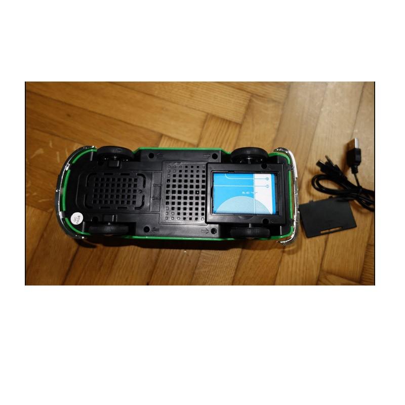 29.9 - Φορητό Ηχείο USB/SD, Ραδιόφωνο VW VAN WS-266-Κόκκινο