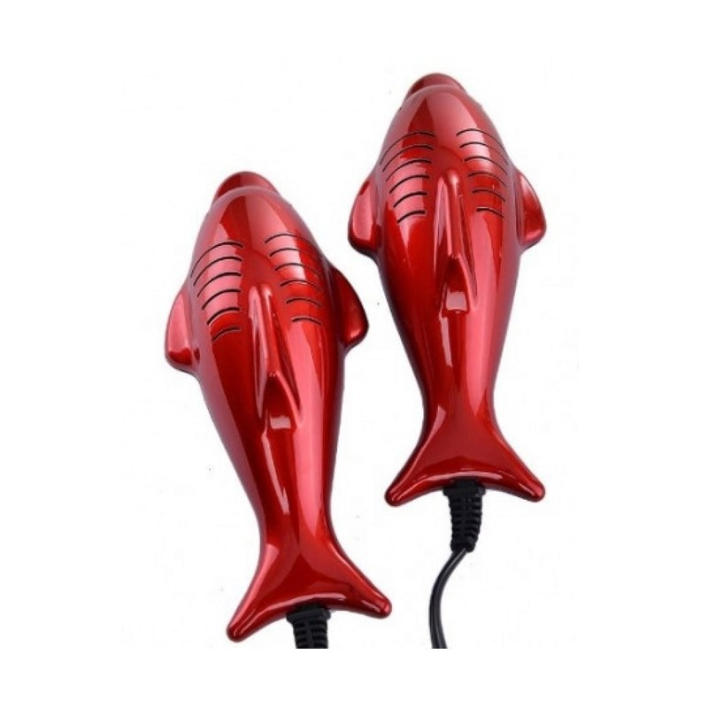 8.9 - Ηλεκτρικός Στεγνωτήρας και Θερμαντήρας Παπουτσιών 14 W Χρώματος Κόκκινο