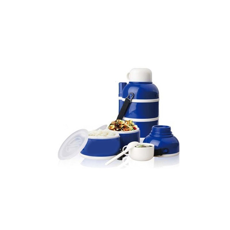 14.9 - Ισοθερμικό Φαγητοδοχείο - Θερμός 0.9 Lt Χρώματος Μπλε