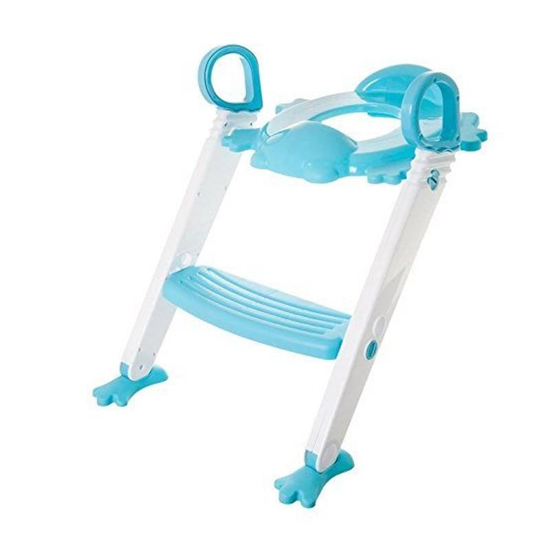 29.9 - Παιδικό Κάθισμα Τουαλέτας με Σκαλοπάτι Χρώματος Μπλε
