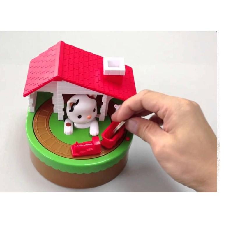 14.5 - Παιδικός Κουμπαράς Γάτα και Ποντικάκι
