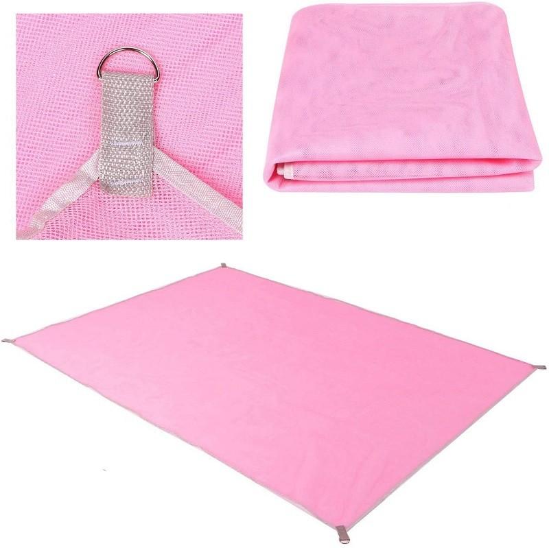 13.9 - Υπόστρωμα Πετσέτας - Ψάθα Παραλίας Χρώματος Ροζ
