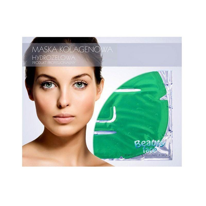 9.9 - Αντιοξειδωτική Μάσκα Προσώπου με Κολλαγόνο, Πράσινο Τσάι και Βιταμίνες Beauty Face