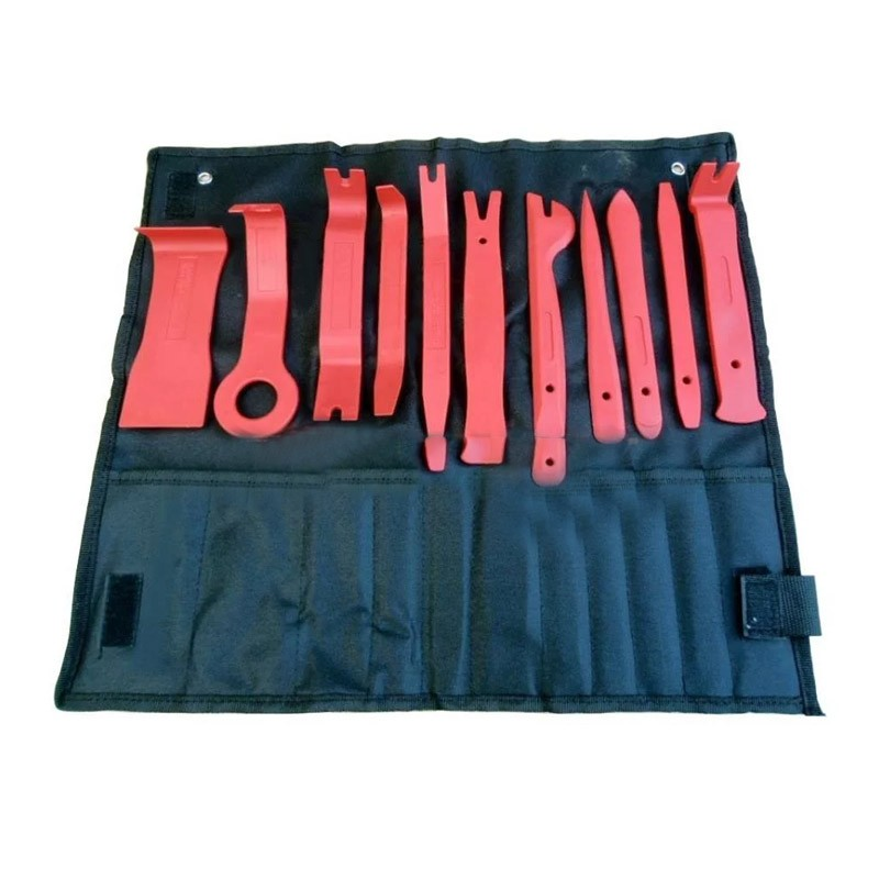 24.9 - Εργαλεία Αφαίρεσης Ταπετσαρίας & Εσωτερικών Πλαστικών Αυτοκινήτου – Σετ 12 Τεμάχια
