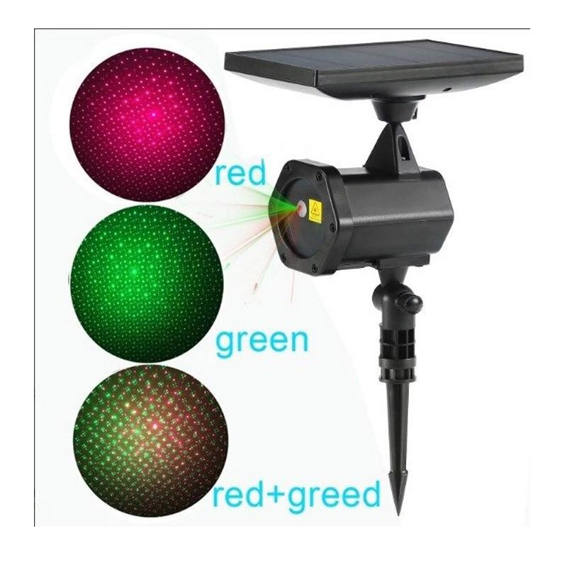 49.9 - Ηλιακός Προβολέας Laser Διακοσμητικού Φωτισμού - Solar Star Laser SP25W