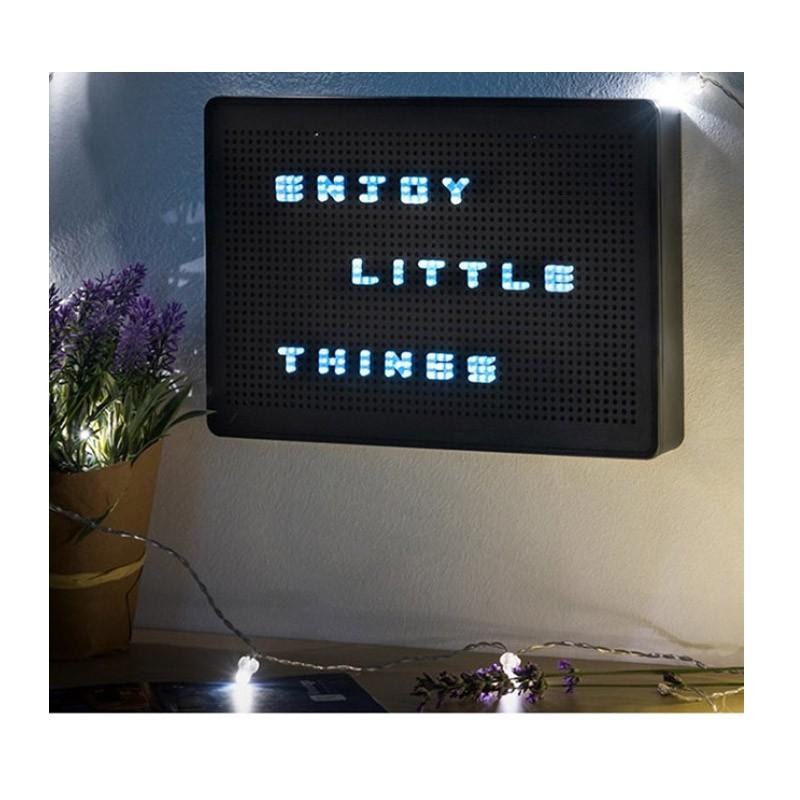 19.9 - Πίνακας Μηνυμάτων LED με Καρφωτά Γράμματα