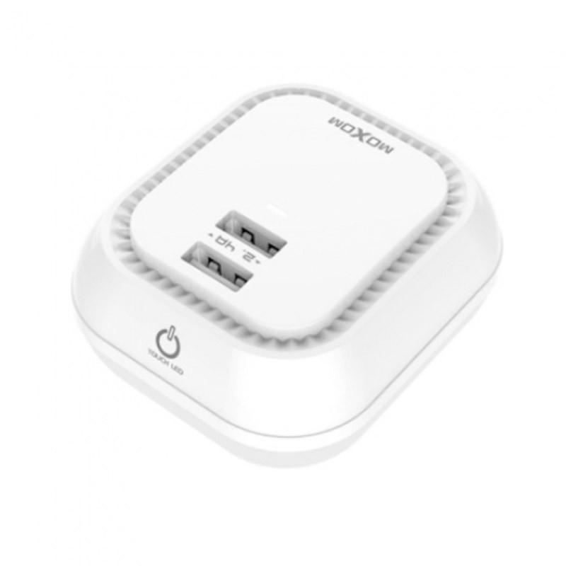 Φωτάκι Νυκτός LED και Φορτιστής USB + Δώρο Καλώδιο iOS ΟΕΜ