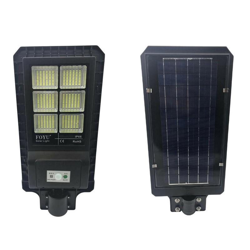 Ηλιακό Φωτιστικό Led Αδιάβροχο με Τηλεχειριστήριο OEM 180 W