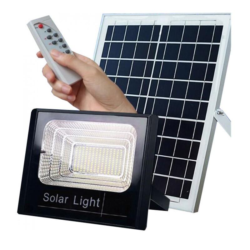 Ηλιακός Προβολέας Αδιάβροχος 200W με Τηλεκοντρόλ OEM FO-8200