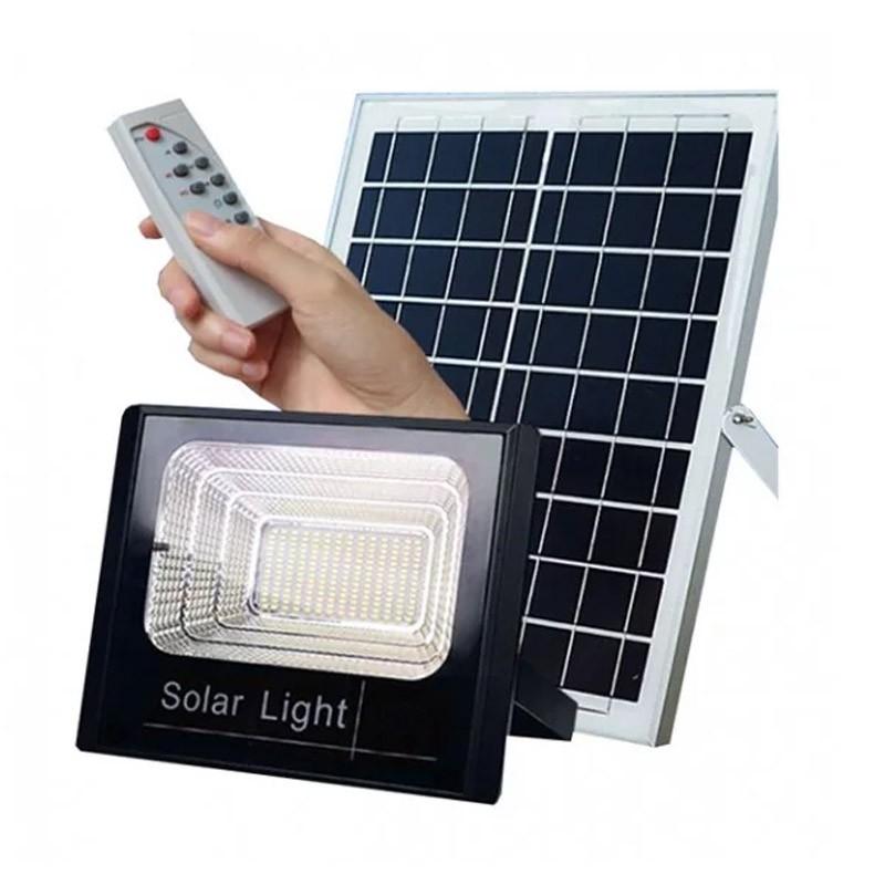 Ηλιακός Προβολέας Αδιάβροχος 60 W με Τηλεκοντρόλ OEM FO-8860