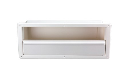 39.07 - Θήκη Χωνευτή Λευκή 54,5 cm x 24,5 cm x 12,5 cm