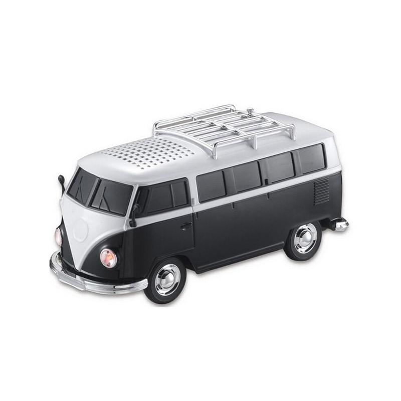 Φορητό Ηχείο USB/SD, Ραδιόφωνο VW VAN WS-266-Μαύρο