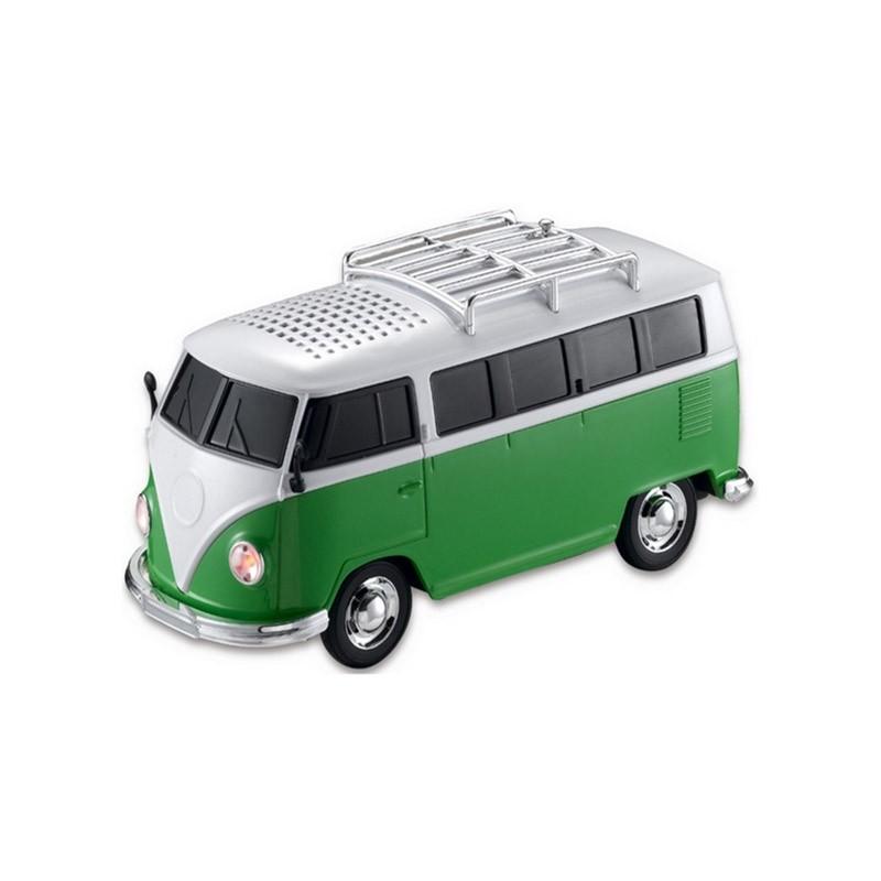 Φορητό Ηχείο USB/SD, Ραδιόφωνο VW VAN WS-266-Πράσινο
